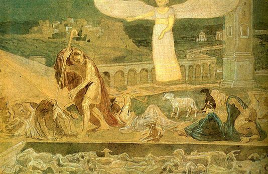 Александр Иванов Явление Ангела пастухам
