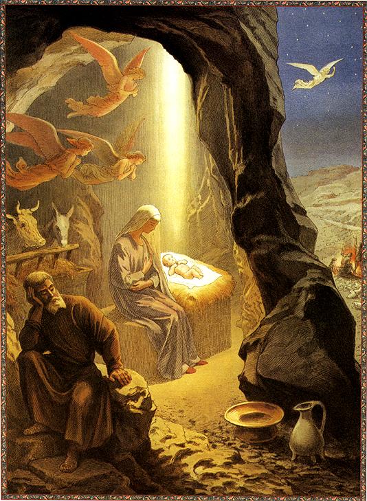 Григорий Гагарин Рождество Христово